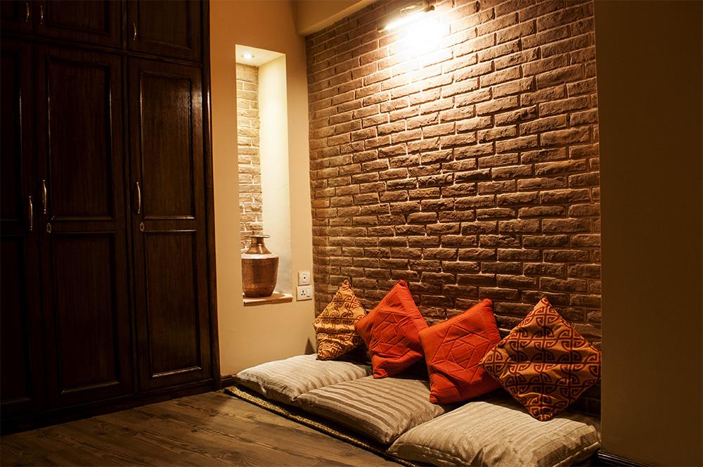 Centuries old reclaimed bricks